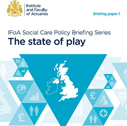 The state of play briefing cover with image of UK map