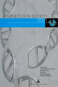 An image of the Genetics in Society publication