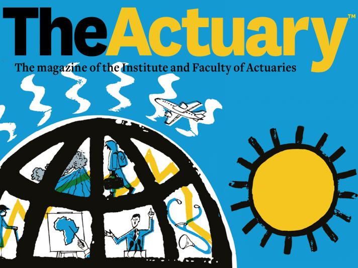 The Actuary banner