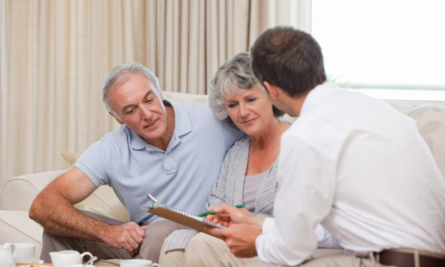 Discussing retirement plans